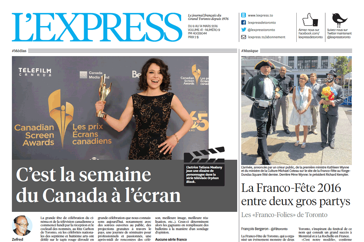 lexpress print edition
