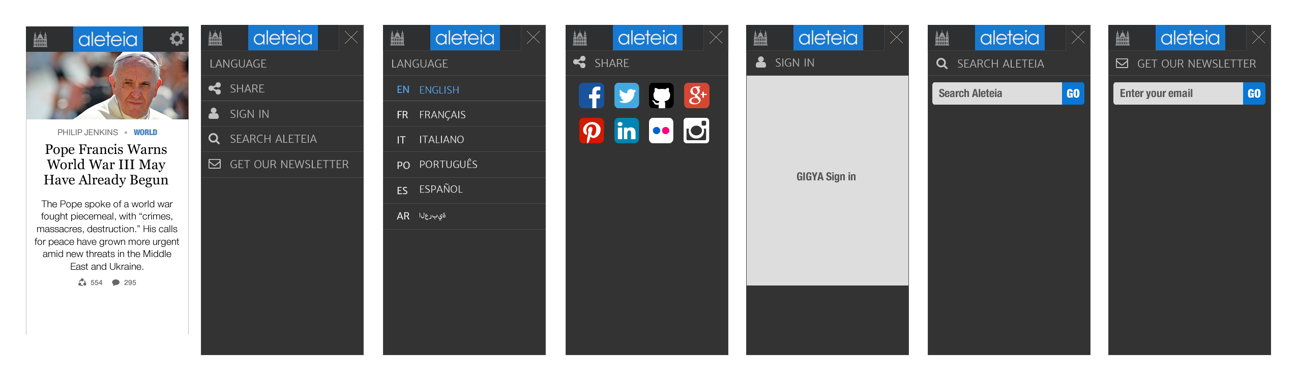 new mobile aleteia